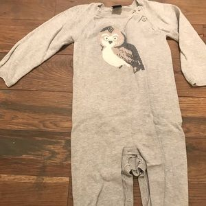 Baby Gap Owl Sweater One Piece